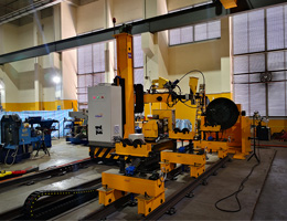 The whole-digital multi-functional pipeline welding machine