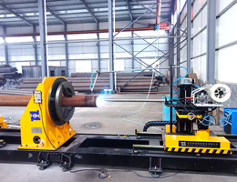 Inner wall surfacing machine for Small pipe