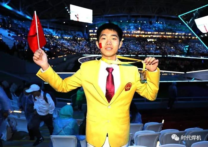 The Chinese welding master once again won the gold medal in the world welding competition!