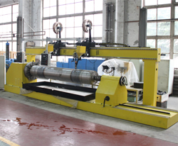 Open arc/submerged arc surfacing equipment